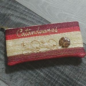 3/$18🌹 Handwoven pencil case